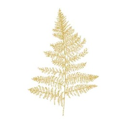 FERN WHITE GOLD lunch 33X33