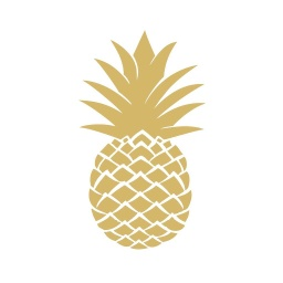 Cocktail golden pineapple