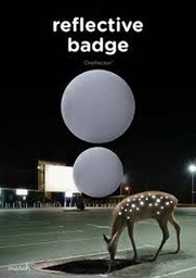 Reflective badge double