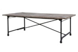 Tafel Steel naturel